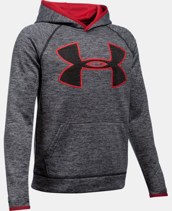 Boys' UA Armour® Fleece Highlight Twist Hoodie LIMITED TIME: FREE SHIPPING  $44.99