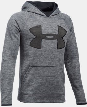 Boys' UA Storm Armour® Fleece Twist Highlight Hoodie