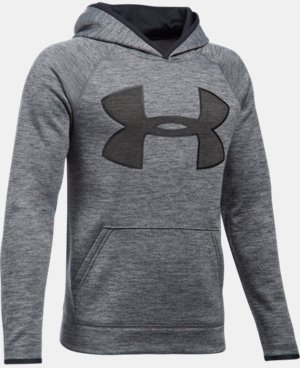 Boys' UA Armour® Fleece Highlight Twist Hoodie   $44.99