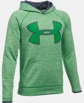 Boys' UA Armour® Fleece Highlight Twist Hoodie  1 Color $29.99 to $37.99
