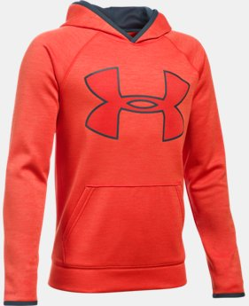 Boys' UA Armour® Fleece Highlight Twist Hoodie  1 Color $27.99 to $37.99