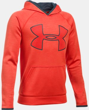 Boys' UA Armour® Fleece Highlight Twist Hoodie LIMITED TIME: FREE U.S. SHIPPING 1 Color $29.99