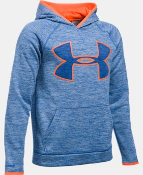 Boys' UA Armour® Fleece Highlight Twist Hoodie  2 Colors $27.99 to $30.99