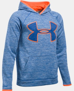 Boys' UA Armour® Fleece Highlight Twist Hoodie LIMITED TIME: FREE SHIPPING 2 Colors $44.99