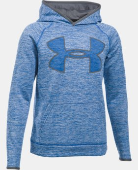 Boys' UA Armour® Fleece Highlight Twist Hoodie   $35.99 to $44.99