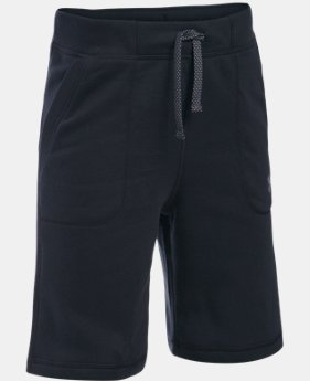 New Arrival  Boys' UA Titan Fleece Shorts   $29.99