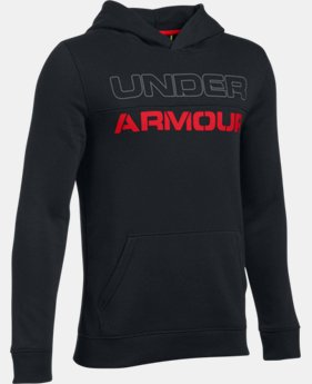 Boys' UA Sportstyle Fleece Hoodie LIMITED TIME: FREE SHIPPING 1 Color $49.99