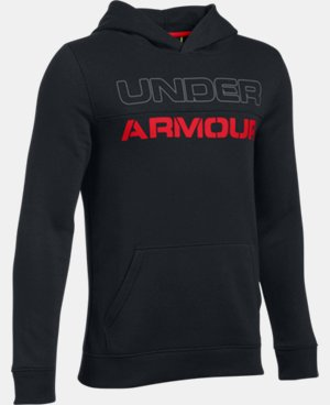 New Arrival  Boys' UA Sportstyle Fleece Hoodie LIMITED TIME: FREE SHIPPING 1 Color $49.99