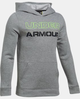Boys' UA Sportstyle Fleece Hoodie  2 Colors $31.99