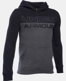 New Arrival  Boys' UA Sportstyle Fleece Hoodie  4 Colors $49.99
