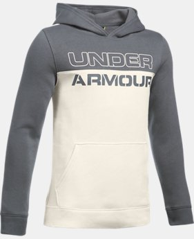 Boys' UA Sportstyle Fleece Hoodie LIMITED TIME: FREE SHIPPING  $49.99