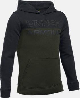 Boys' UA Sportstyle Fleece Hoodie LIMITED TIME: FREE U.S. SHIPPING 2 Colors $44.99