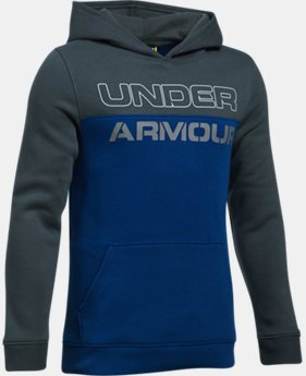 Boys' UA Sportstyle Fleece Hoodie LIMITED TIME: FREE U.S. SHIPPING  $44.99
