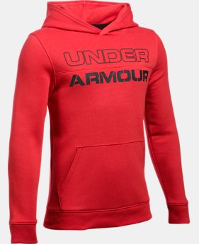 New Arrival  Boys' UA Sportstyle Fleece Hoodie LIMITED TIME: FREE SHIPPING  $49.99
