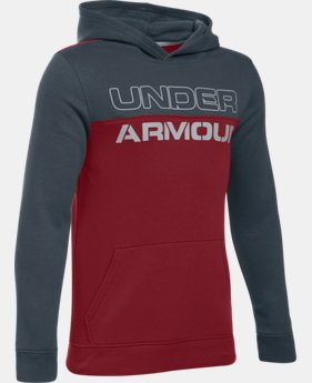 Boys' UA Sportstyle Fleece Hoodie  1 Color $33.99 to $44.99