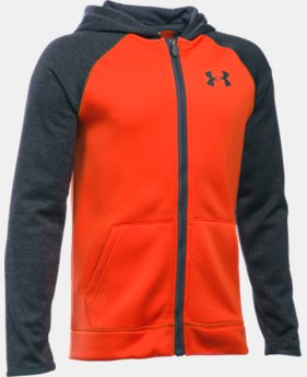 Boys' UA Storm Armour® Fleece Full Zip Hoodie