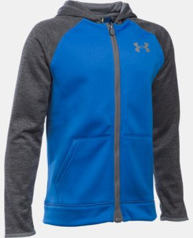 Boys' UA Storm Armour® Fleece Full Zip Hoodie  2 Colors $64.99