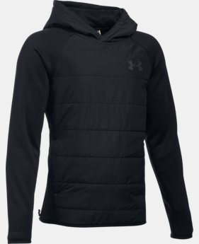 New Arrival  Boys' UA Storm Insulated Pullover Swacket LIMITED TIME: FREE SHIPPING  $84.99