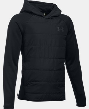 New Arrival  Boys' UA Storm Insulated Pullover Swacket  2 Colors $84.99