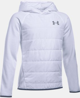 Boys' UA Storm Insulated Pullover Swacket LIMITED TIME: 25% OFF 1 Color $56.24