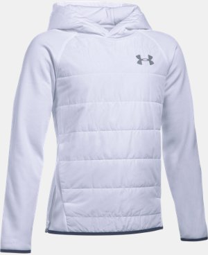 Boys' UA Storm Insulated Pullover Swacket LIMITED TIME: FREE U.S. SHIPPING  $74.99