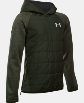 Boys' UA Storm Insulated Pullover Swacket LIMITED TIME OFFER 1 Color $56.24