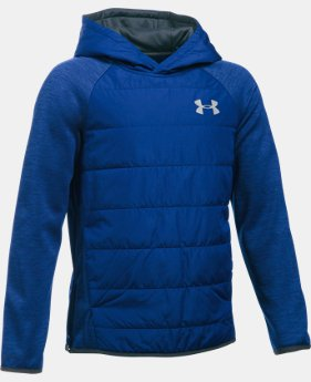 New Arrival  Boys' UA Storm Insulated Pullover Swacket LIMITED TIME: FREE SHIPPING 1 Color $84.99