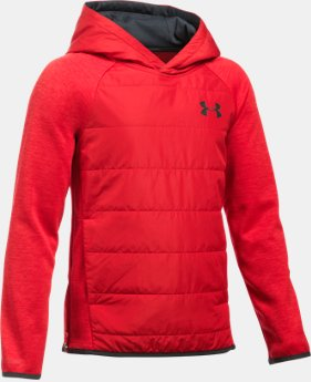 Boys' UA Storm Insulated Pullover Swacket  1 Color $74.99