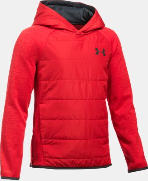 Boys' UA Storm Insulated Pullover Swacket LIMITED TIME: FREE U.S. SHIPPING 1 Color $74.99