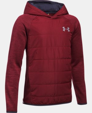 Boys' UA Storm Insulated Pullover Swacket   $74.99