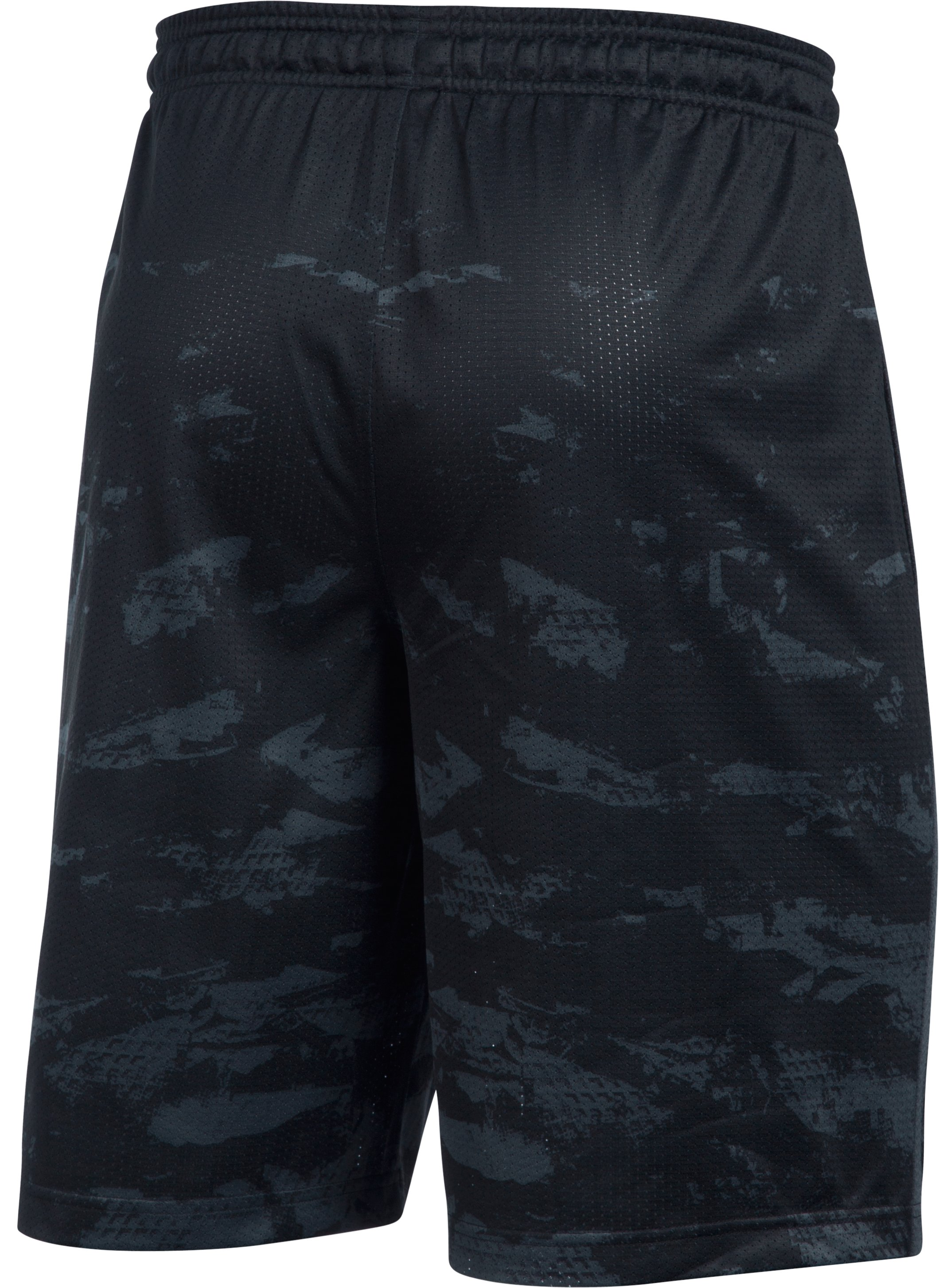 Men's UA Baseball Training Shorts, Black , undefined