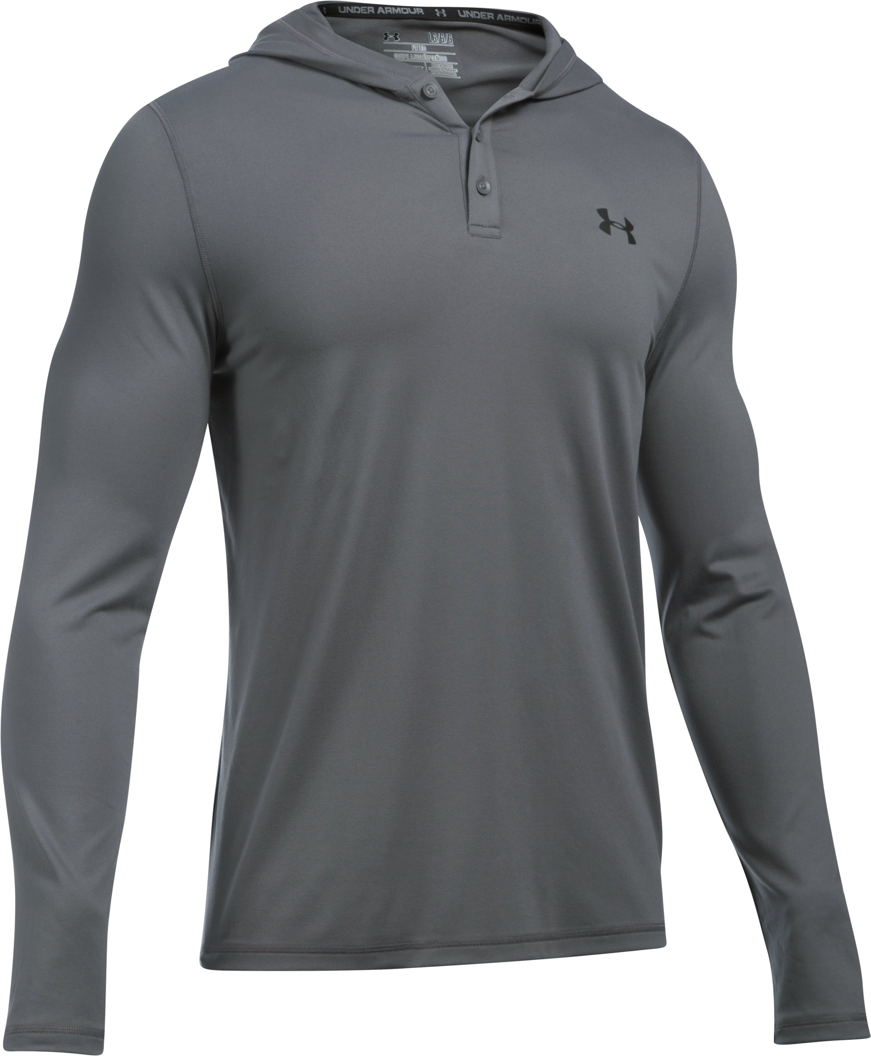 Men's UA Lounge Hoodie, Graphite, undefined