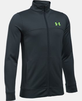 Boys' UA Pennant Warm-Up Jacket  3 Colors $39.99