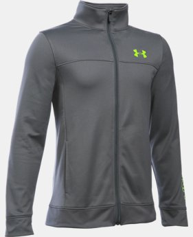 Boys' UA Pennant Warm Up Jacket LIMITED TIME: FREE SHIPPING 1 Color $44.99