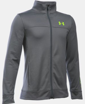 Boys' UA Pennant Warm Up Jacket LIMITED TIME: FREE SHIPPING 1 Color $33.99
