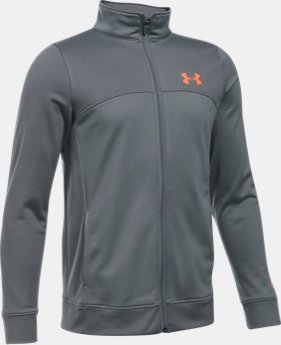 Boys' UA Pennant Warm-Up Jacket  1 Color $27.99