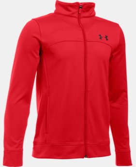 Boys' UA Pennant Warm-Up Jacket  1 Color $39.99
