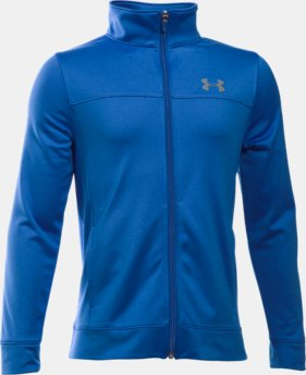 Boys' UA Pennant Warm Up Jacket