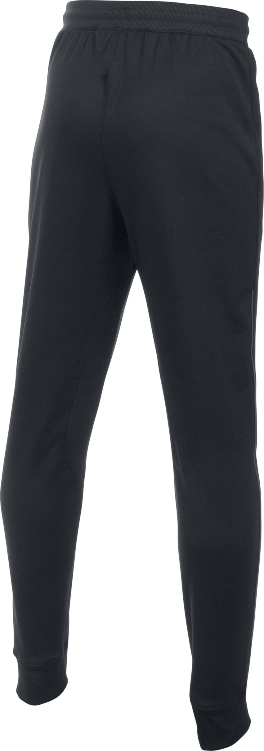 Boys' UA Pennant Tapered Pants, Black