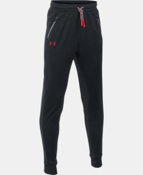 Boys' UA Pennant Tapered Pants  4 Colors $44.99