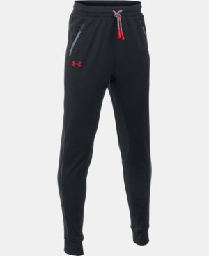 Boys' UA Pennant Tapered Pants LIMITED TIME OFFER + FREE U.S. SHIPPING  $39.99