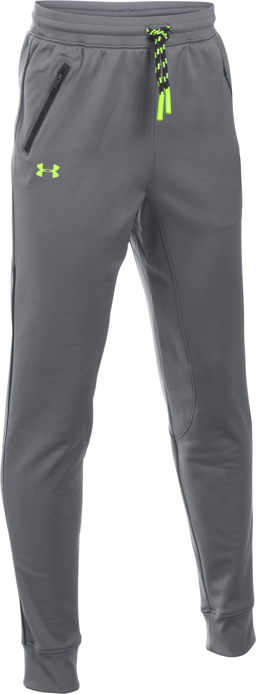 graphite pants Boys' UA Pennant Tapered Pants My boy loves the pants....nice jogger...The jogger is very nice quality.