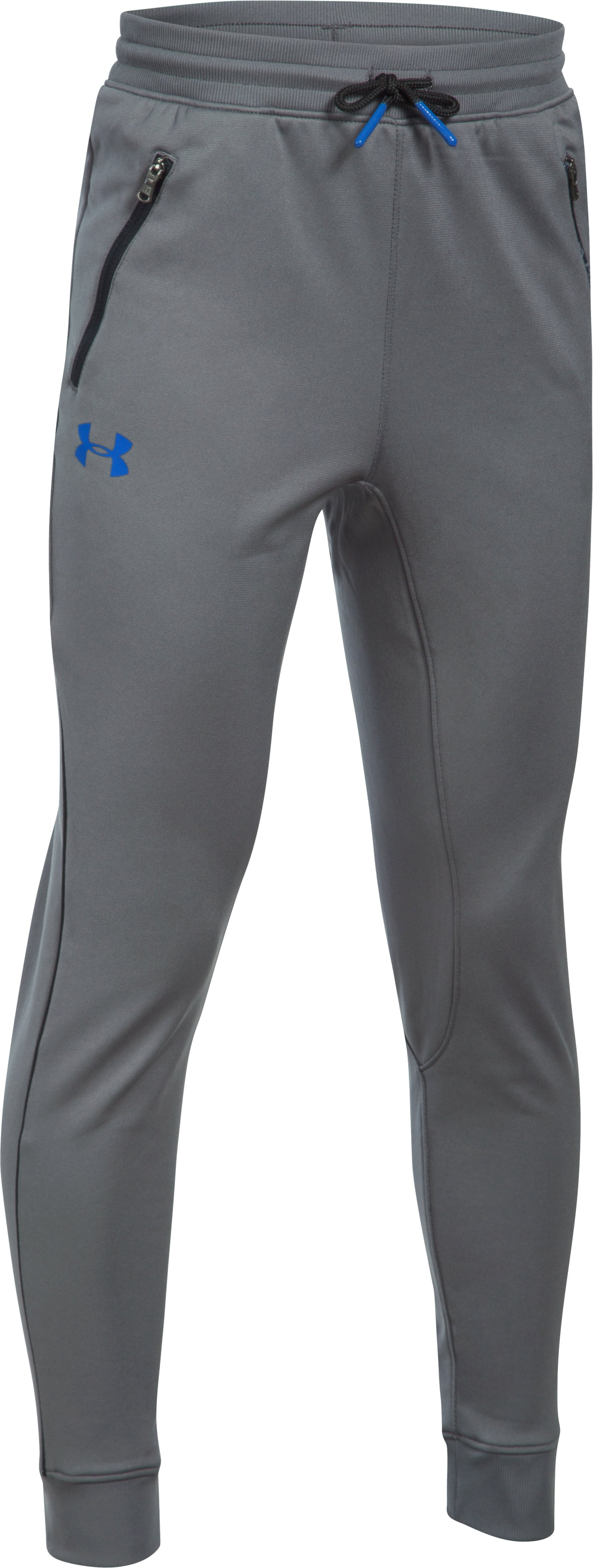 Boys' UA Pennant Tapered Pants, Graphite