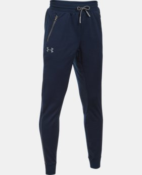 Boys' UA Pennant Tapered Pants LIMITED TIME: FREE U.S. SHIPPING 2 Colors $39.99