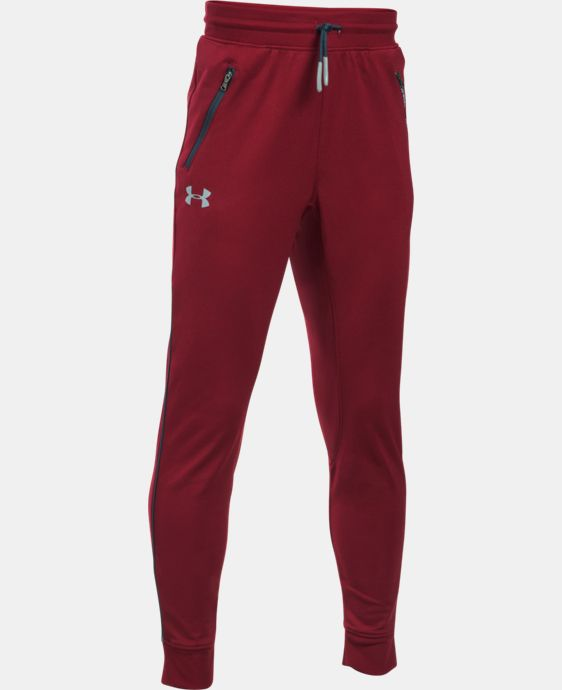 Boys' UA Pennant Tapered Pants LIMITED TIME OFFER + FREE U.S. SHIPPING  $26.99 to $29.99