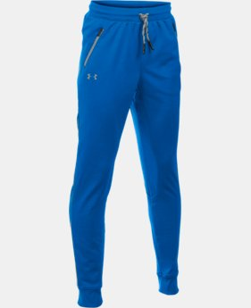 Boys' UA Pennant Tapered Pants LIMITED TIME OFFER + FREE U.S. SHIPPING 1 Color $26.99 to $29.99