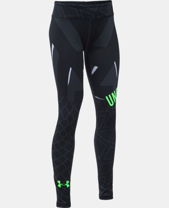 Girls' UA Mix Master Chain Grid Leggings LIMITED TIME: FREE U.S. SHIPPING 1 Color $54.99