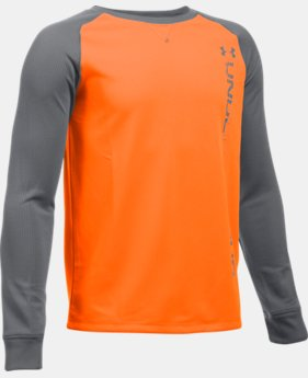 Boys' UA Waffle Crew LIMITED TIME: FREE SHIPPING 2 Colors $29.99