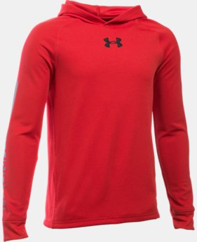 Boys' UA Waffle Hoodie LIMITED TIME: FREE SHIPPING 3 Colors $44.99