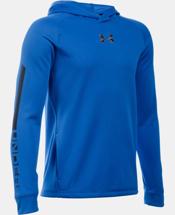 Boys' UA Waffle Hoodie LIMITED TIME: 15% OFF 1 Color $44.99